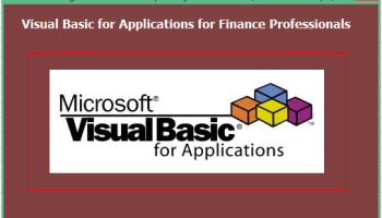 Visual Basic for Application-VBA programming – How it helps in